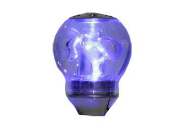 Bola de Câmbio Sport Iluminada Azul