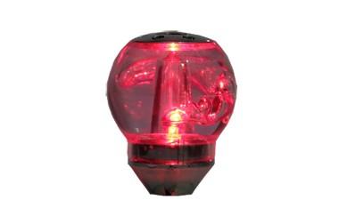 Bola de Câmbio Sport Iluminada Vermelha