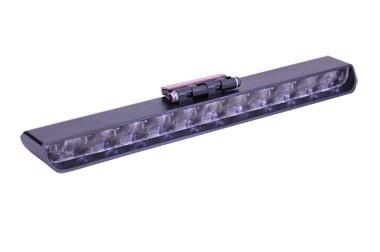 Brake Light Preto com Lente Cristal