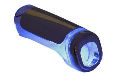 Cobertura Freio de Mão Iluminada Azul