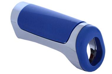 Cobertura do Freio de Mão Azul/Cromada