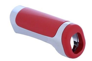 Cobertura do Freio de Mão Vermelha/Cromada