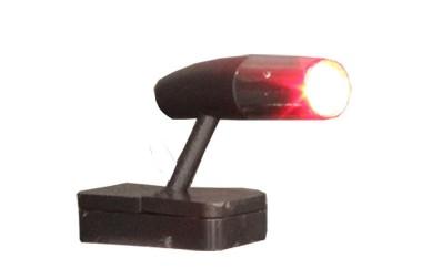 Mini Spot Com led Vermelho