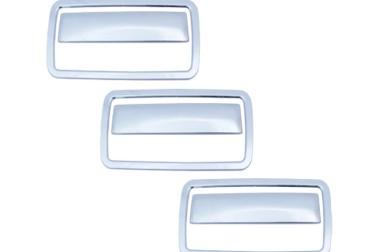 Aplique Cromado para Maçaneta Externa da Porta S10 …/11 – Blaser …/00 ( Com Aro )