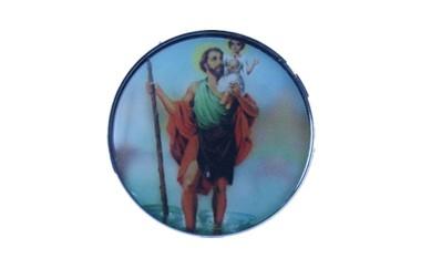 Auto Adesivo para Painel ( Santinho ) São Cristovão