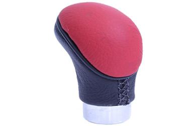 Bola de cambio Naja – Couro – Vermelha/Preta