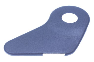 Capa do reclinável do banco – Gol/Parati/Saveiro 97/… Passageiro – LE – Com furo – Preto