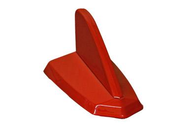 Antena decorativa Tubarão Vermelha