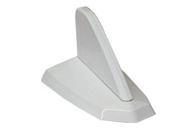 Antena decorativa Tubarão Branca