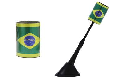 Enfeite para antena Brasil