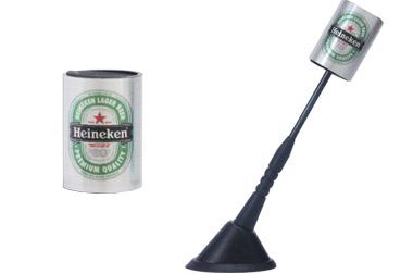 Enfeite para antena cerveja Heineken