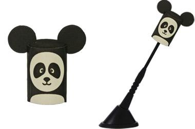 Enfeite para antena Panda